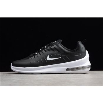 Mens and WMNS Nike Air Max Axis Black White Running Shoes