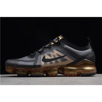 Nike Air VaporMax 2019 Black Metallic Gold