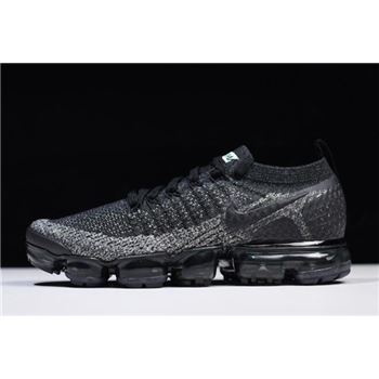 Nike Air VaporMax Flyknit 2.0 Black/Black-Dark Grey 942842-012