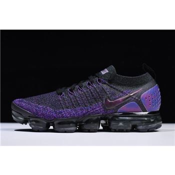 Nike Air VaporMax Flyknit 2.0 Black/Night Purple 942842-013