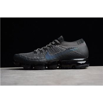 Nike Air VaporMax Flyknit Midnight Fog Black