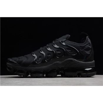 Nike Air VaporMax Plus Triple Black Black Dark Grey