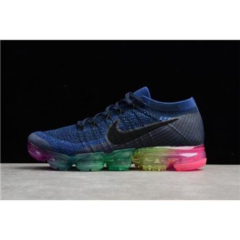Nike Air Vapormax Flyknit Be True Deep Royal Blue Concord White Pink Blas