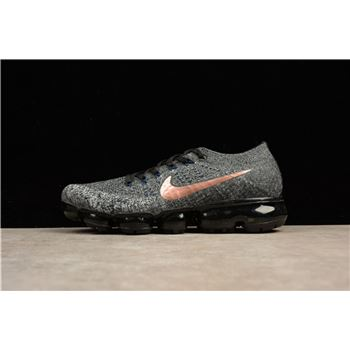 Nike Air Vapormax Flyknit Explorer Dark Metallic Copper Swooshes 849558-010