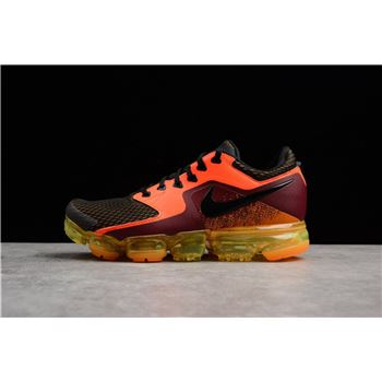 Nike Air Vapormax Total Crimson Black Men's Running Shoes AH9046-800
