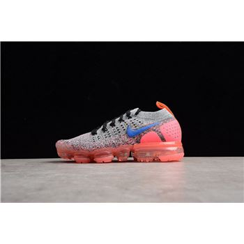 Nike WMNS Air VaporMax 2.0 Grey/Ultramarine-Hot Punch Running Shoe 942843-104