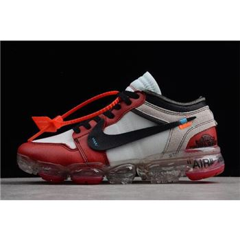 Off-White x Nike Air VaporMax x nike air max summer navy shoes sale clearance Chicago White/Black-Varsity Red AA3830-003