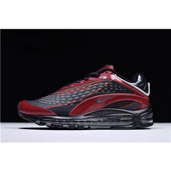 Skepta x Nike Air Max Deluxe TPU Black Deep Red