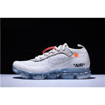 Virgil Abloh Off White x Nike Air VaporMax White Black Total Orange