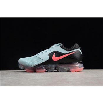 Womens Nike Air Vapormax Ocean Bliss Black Hot Punch Running Shoes