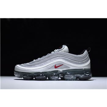 New Air VaporMax 97 Silver Bullet Metallic Silver/Varsity Red-White-Black AJ7291-002
