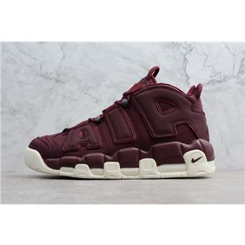 Mens Nike Air More Uptempo Bordeaux Night Maroon Sail