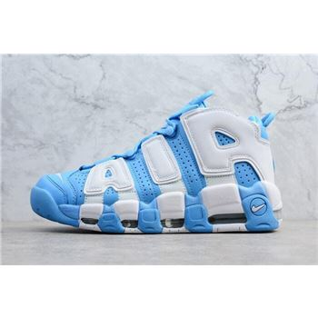 Mens Nike Air More Uptempo UNC University Blue White