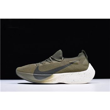 Men's Nike Vapor Street Flyknit Medium Olive/Sequoia AQ1763-201