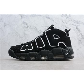Mens and WMNS Nike Air Uptempo OG Black White