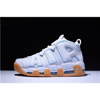 Mens and Womens Nike Air More Uptempo Ocean Bliss