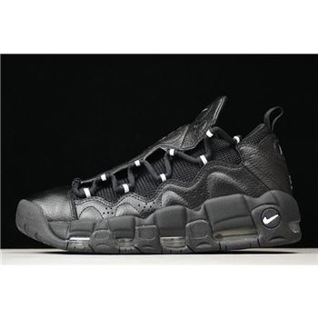 Nike Air More Money Black Metallic Silver Black