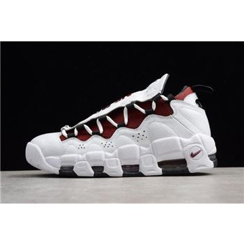 Nike Air More Money Mo Money White Black University Red