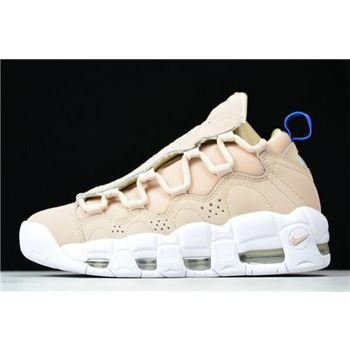Nike Air More Money Particle Beige White