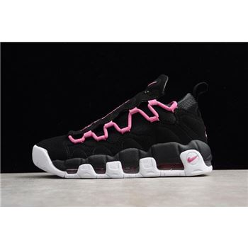 Nike Air More Money QS Black Fuschia White Mens and Womens Size Shoes