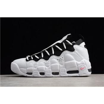 Nike Air More Money White Black Coral Chalk Mens Size