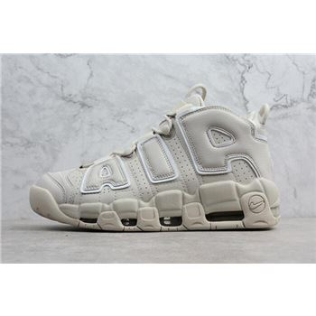 Nike Air More Uptempo Light Bone Mens Shoes