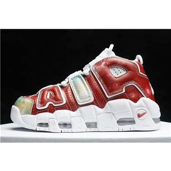 Nike Air More Uptempo United Kingdom Amarillo Speed Red Neptune Green White
