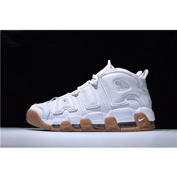 Nike Air More Uptempo White Gum Mens Sneaker