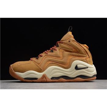 Nike Air Pippen 1 Wheat Desert Ochre Velvet Brown Fossil Total Orange