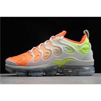 Nike Air VaporMax Plus Reverse Sunset Barely Grey Total Crimson Volt White