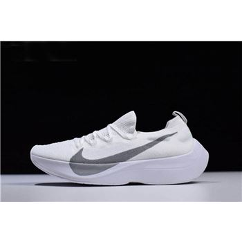 Nike Vapor Street Flyknit Pure White White/Wolf Grey Men's and Women's Size AQ1763-100