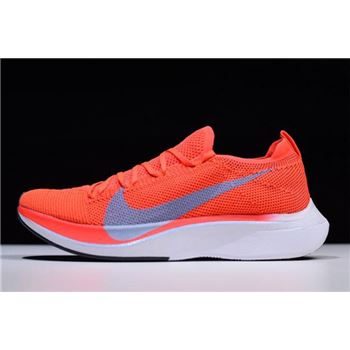 Nike Zoom VaporFly 4 Flyknit Bright Crimson Ice Blue