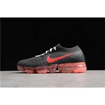 Womens NikeLab Air VaporMax Flyknit Black Big Red