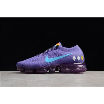 Women's NikeLab Air VaporMax Flyknit Purple/Water Moonlight AA3859-015
