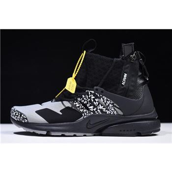 Acronym x Nike Air Presto Mid Cool Grey Black
