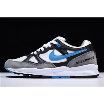 Nike Air Span II Black Laser Blue Dust White