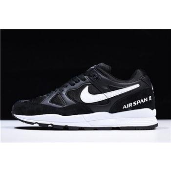 Nike Air Span II Black White