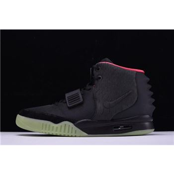 Men's Nike Air Yeezy 2 NRG Black/Solar Red 508214-006