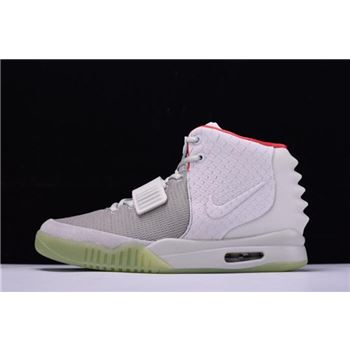 Nike Air Yeezy 2 NRG Wolf Grey Pure Platinum