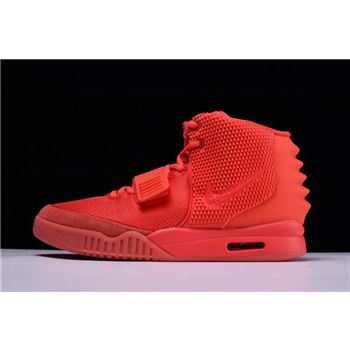 Nike Air Yeezy 2 nike huarache crimson orange blue color