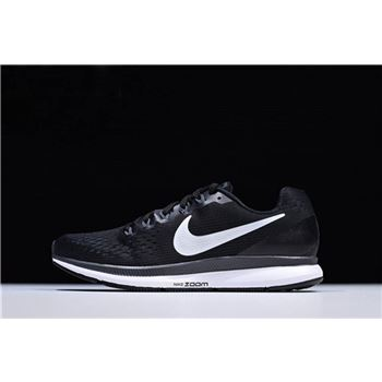 Nike Air Zoom Pegasus 34 Trainers Black Running Shoes
