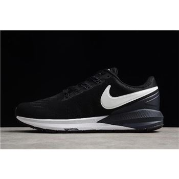 Nike Air Zoom Structure 22 Black White Gridiron