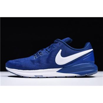 Nike Air Zoom Structure 22 Gym Blue White