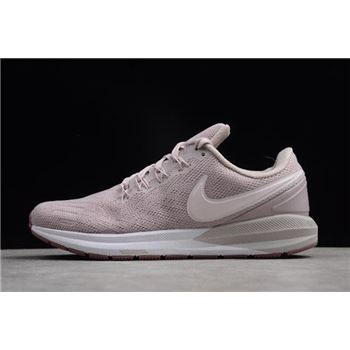 Nike Air Zoom Structure 22 Particle Rose Pale Pink White Womens Running Shoes