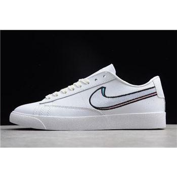 Nike Blazer Low LX Summit White Oracle Pink Signal Blue