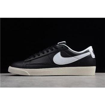 Nike Blazer Low Premium Black Sail White