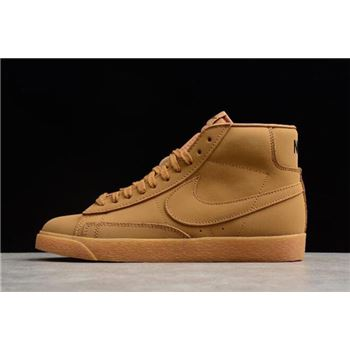 Nike Blazer Mid Premium Wheat Mens and Womens Size