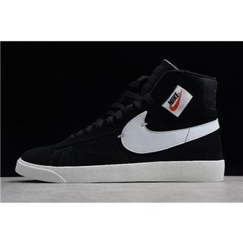 Nike Blazer Mid Rebel XX Black Summit White Oil Grey