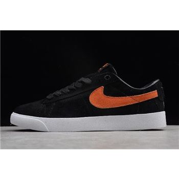 Nike SB Blazer Low GT Cats Paw Saloon Black Vivid Orange White
