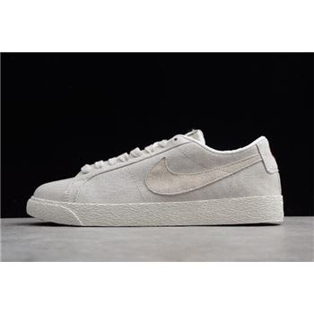 Nike SB Zoom Blazer Low Canvas Decon Phantom Light Bone Habanero Red
